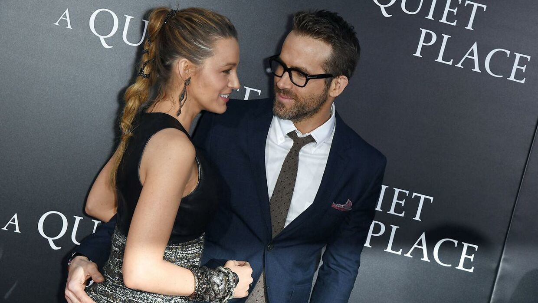 Blake Lively og ægtemanden, Ryan Reynolds.