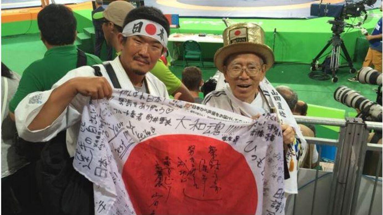 45-årige Kazunori Takishima ved legene i 2016. Foto: Reuters.