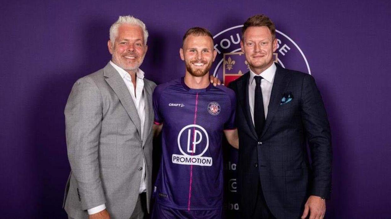Mikkel Desler er ny mand i Toulouse FC.