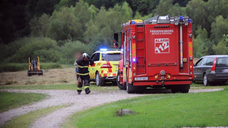 Manden, der blev klemt under trucken, er død af sine kvæstelser. Foto: Presse-fotos.dk