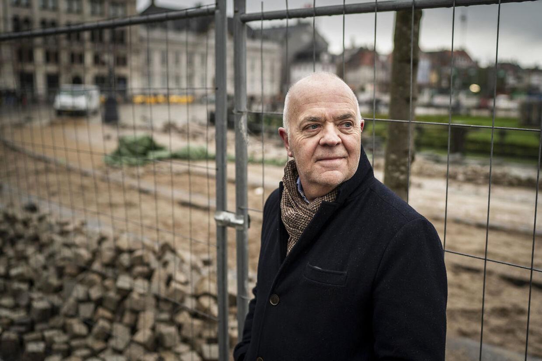 Jes Dorph-Petersen på Kongens Nytorv i København.