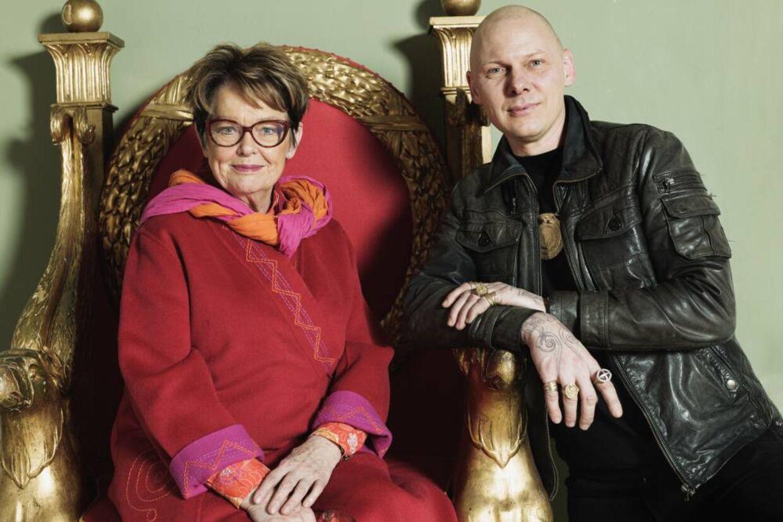 Ghita Nørby og Jim Lyngvild lavede to omgange af DR-serien 'Jim og Ghita på eventyr' sammen.