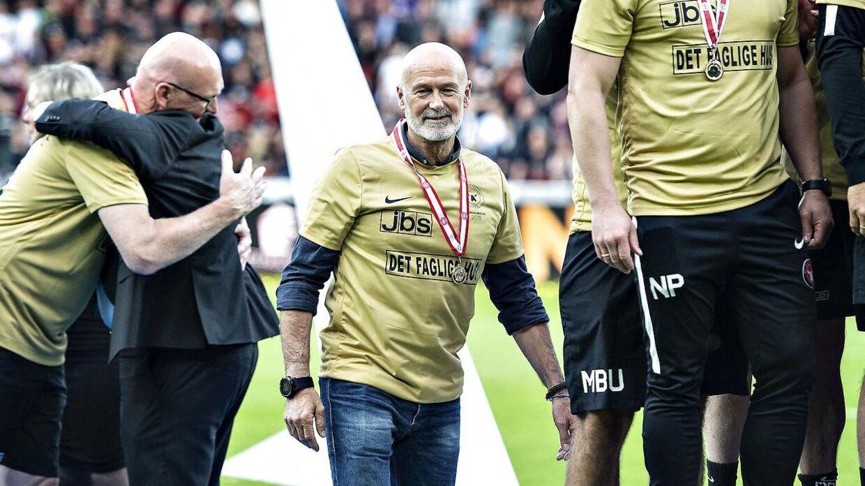 B.S. Christiansen er ansat som mentaltræner i FC Midtjylland.