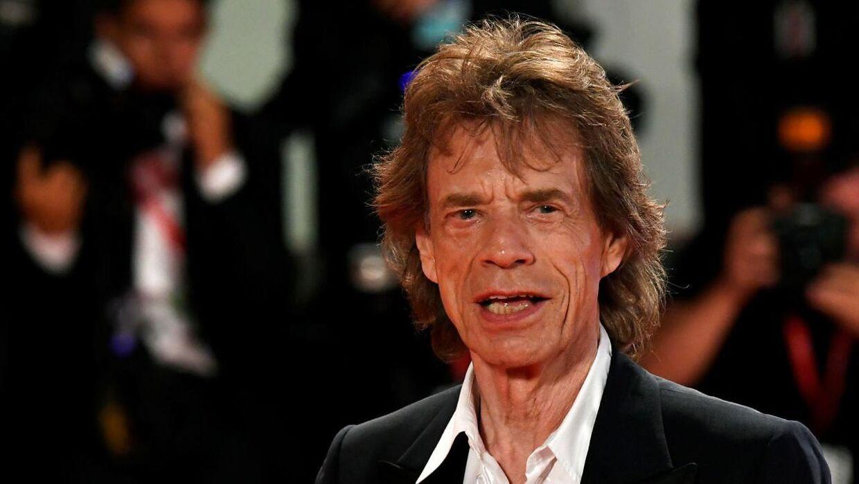Rolling Stones-forsangeren Mick Jagger til Venice Film Festival i september 2019.