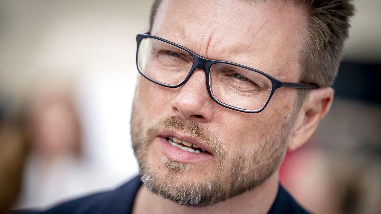 Søren Simonsen, chef de mission, er ikke bekymret for en aflysning.
