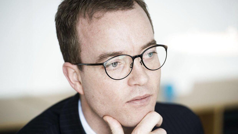 Esben Lunde Larsen har scoret sig en ny titel som direktør. Foto: Arkiv