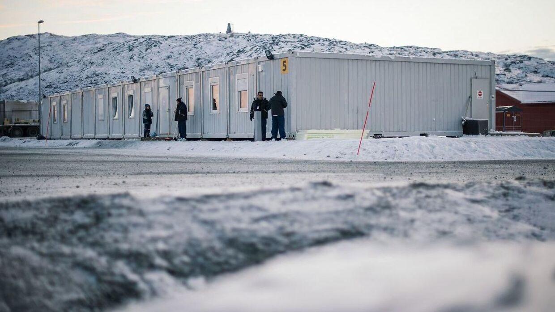 Arkivfoto fra det nordlige norge nær grænsen til Rusland.