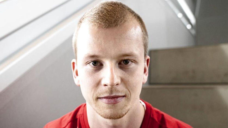 Kim Astrup, atlet i badminton.