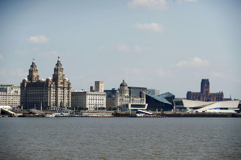 Liverpools ikoniske havnefront er blevet udbygget med mange nye bygninger