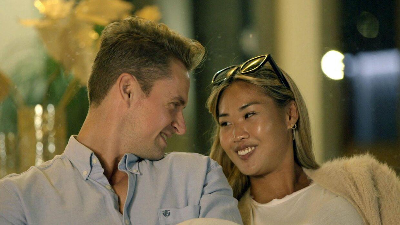 Casper og Uyen havde et godt øje til hinanden i 'Bachelor', hvor den 29-årige danser måtte nøjes med en tredjeplads.