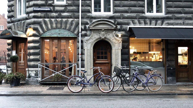 Restauranten Kokkkeriet i Kronprinsessegade. Arkivfoto.