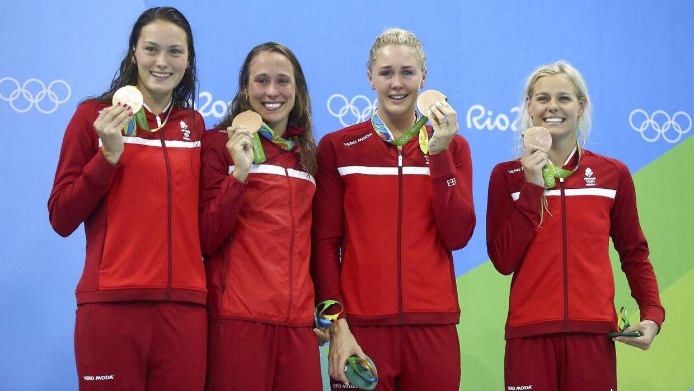 Jeanette Ottesen var med til at vinde medaljer ved OL i Rio i 2016.