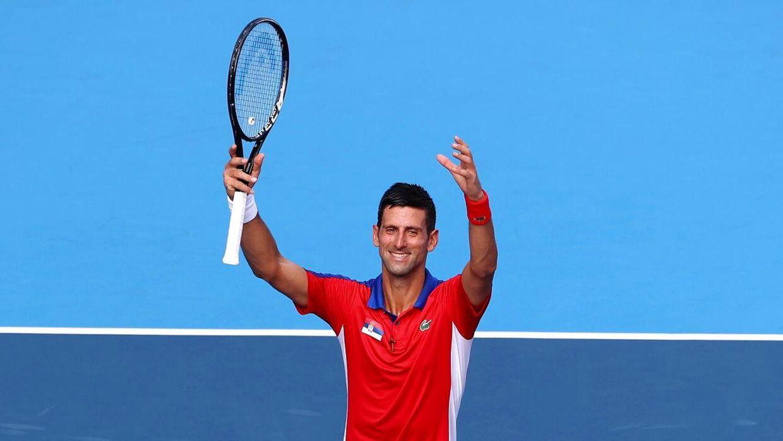 34-årige Novak Djokovic