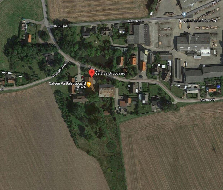 Det er her i Ringsted, at Balstrupgård og Susanne Danvogg befinder sig. Foto: Google Maps