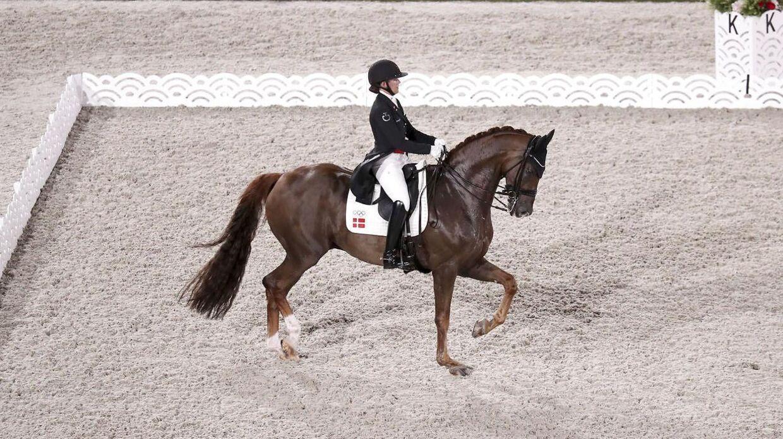 Cathrine Dufour og Bohemian under lørdagens holdkonkurrence.