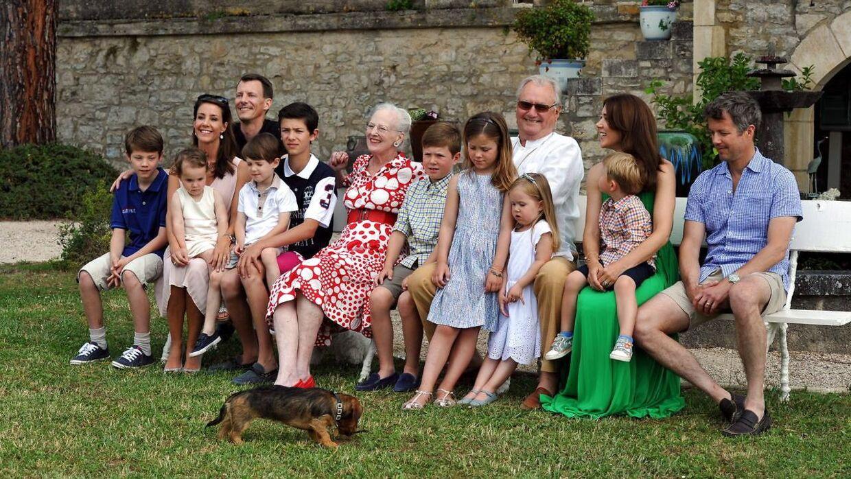 Sådan så det ud til prins Henriks 80-års fødselsdag i 2014.