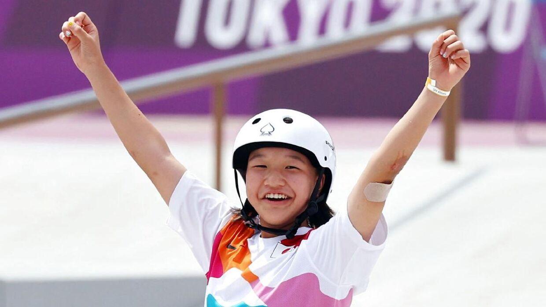 13-årige Momiji Nishiya snød alle de andre.