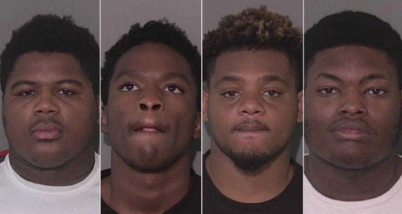 Her er de fire mænd sigtet for nedskydningen