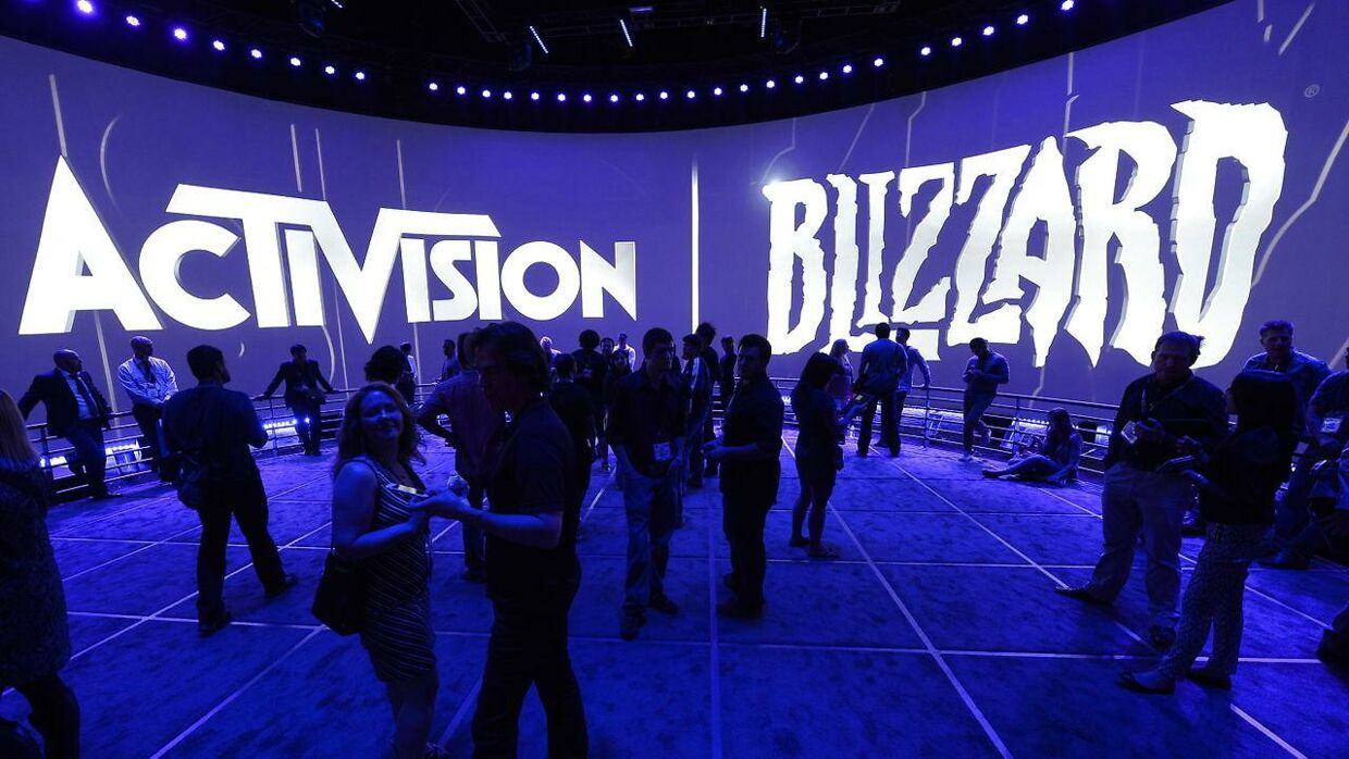 epa07906437 (FILE) - Attendees gather at the Activision Blizzard exhibit at the E3 (Electronic Entertainment Expo) in Los Angeles, California, USA, 12 June 2013 (Reissued 08 October 2019). According to reports on 08 October 2019, Blizzard suspended Hong Kong based professional esports athlete Ng Wai 'Blitzchung' Chung from all competitions related to its game 'Hearthstone' for a year, as well as revoking his prize money for violating Blizzard's rules after he showed support to the Hong Kong pro-democracy protests by wearing a gas mask and shouting 'Liberate Hong Kong. Revolution of our age!' during a post match video interview in the 'Grandmasters competition'. EPA/MICHAEL NELSON *** Local Caption *** 50871622
