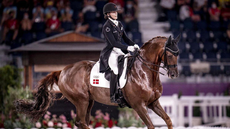 Cathrine Dufour og Bohemian skal forsøge at ride en individuel medalje hjem. Det samme skal Nanna Skodborg Merrald og Carina Cassøe Krüth.