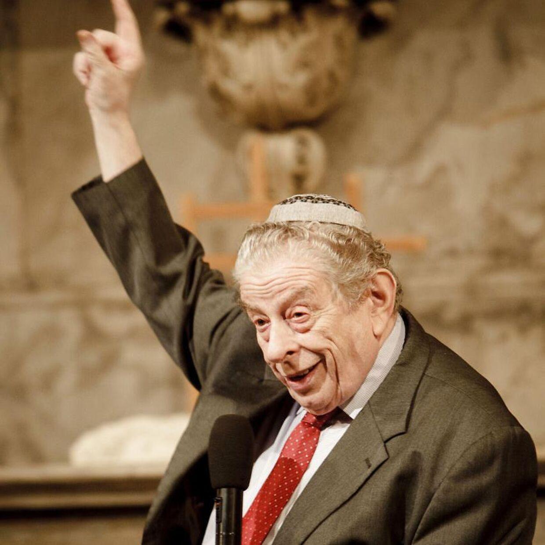 Her Bent Melchior fotograferet i Christian Kirken i 2012.