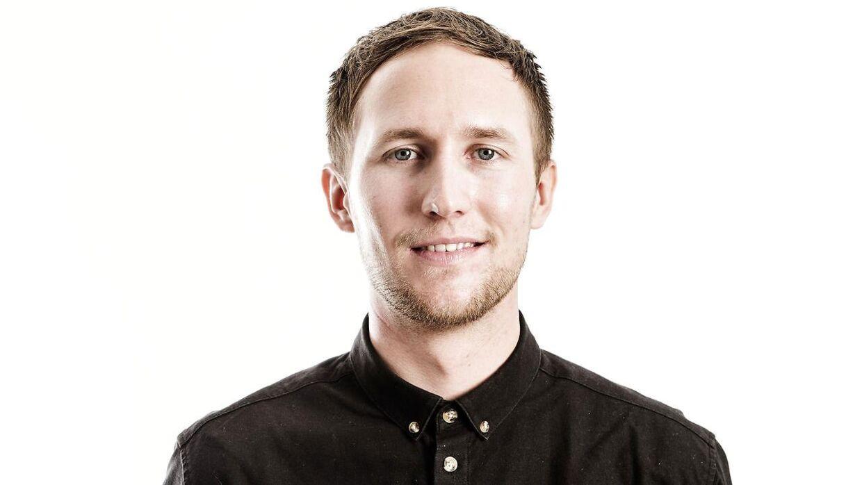 B.T.s fodboldredaktør Michel Wikkelsø Davidsen.
