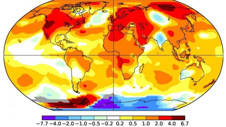 Siden 2015 har vi set seks af de varmeste år nogensinde målt.