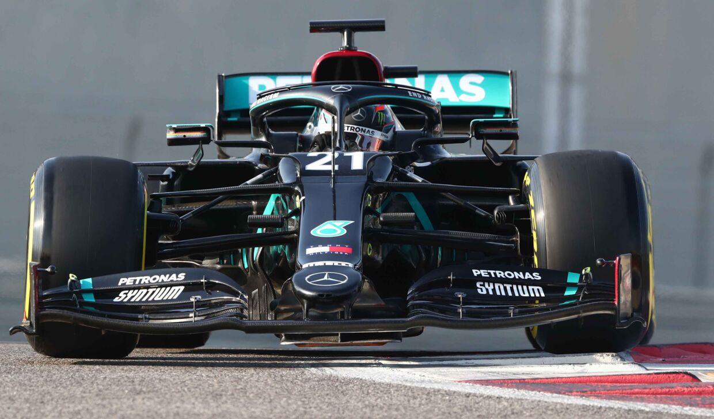 Mercedes´ Formel E-kører Nyck de Vries repræsenterede sidste år teamet i Formel 1´s Young Driver-test