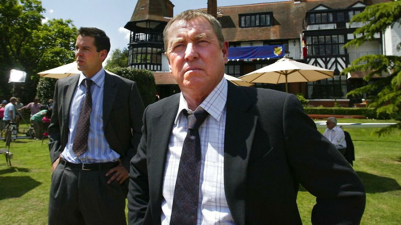 Skuespiller John Nettles i rollen som Tom Barnaby.