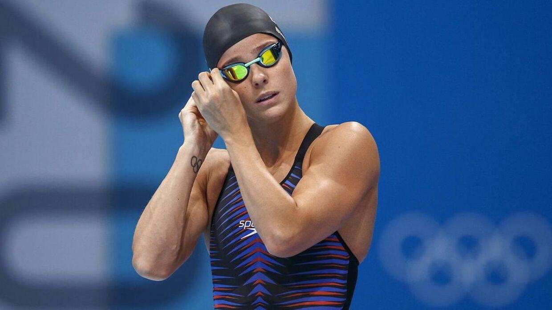 Pernille Blume formåede ikke at svømme sig i finalen i 50 meter fri.