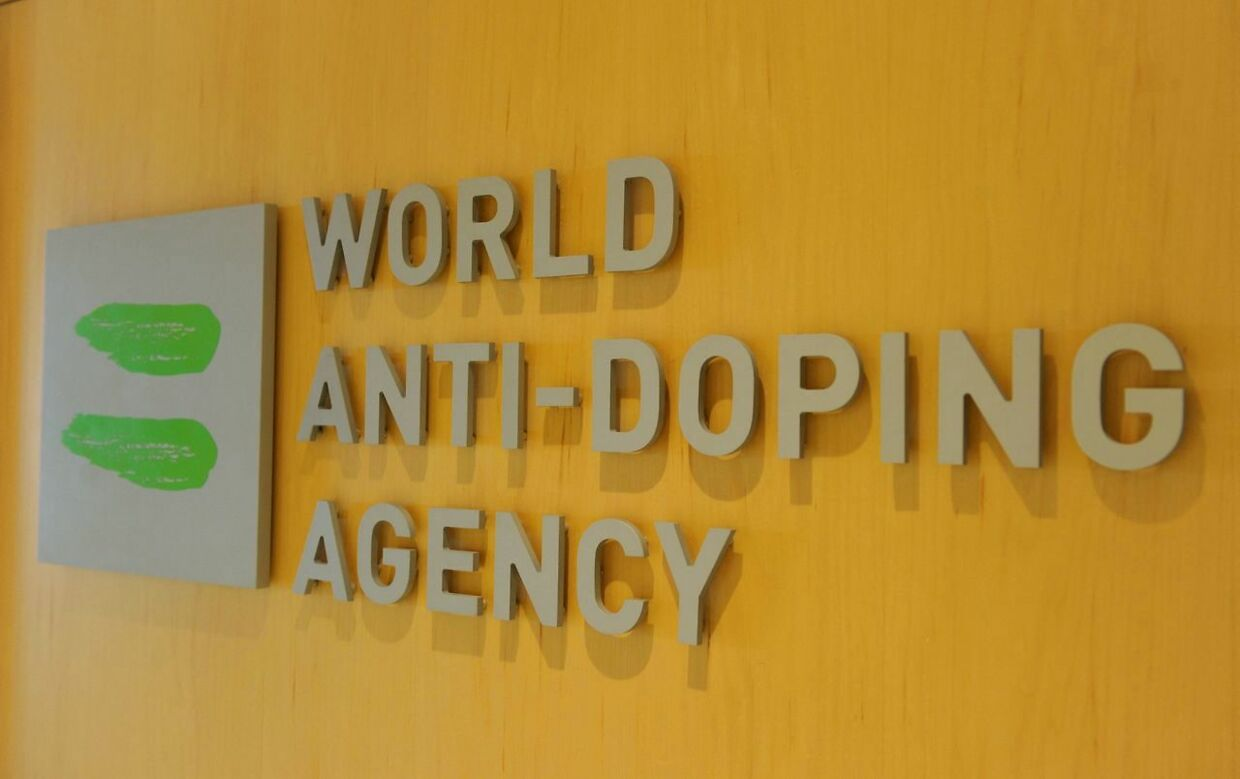 """(FILES) In this file photo taken on September 20, 2016, World Anti-Doping Agency (WADA) headquarters in Montreal. - WADA on July 22, 2021, welcomed a White House announcement that the US was paying just over half of its annual contribution and said reforms were """"under discussion"""". On July 21, Richard Baum, the White House coordinator for doping in sport told a Senate committee the US was paying only $1.6 million (1.36 million euros) of its $2.9 million annual WADA dues. (Photo by Marc BRAIBANT / AFP)"""