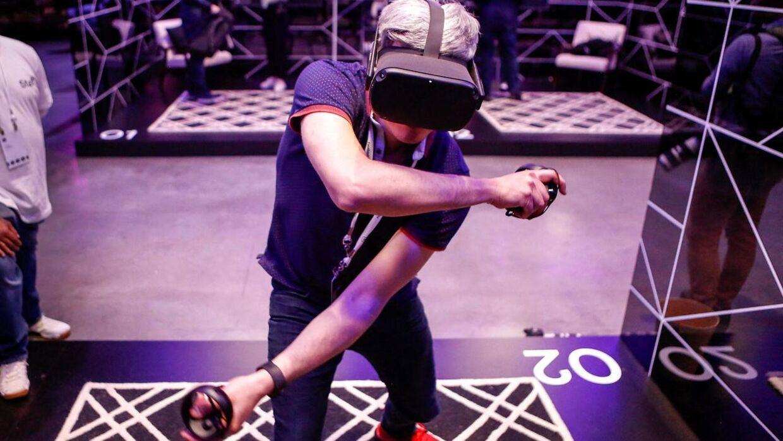 Her er det første udgave af Oculus Quest. Det er den nye, 2'eren, der er problemer med.