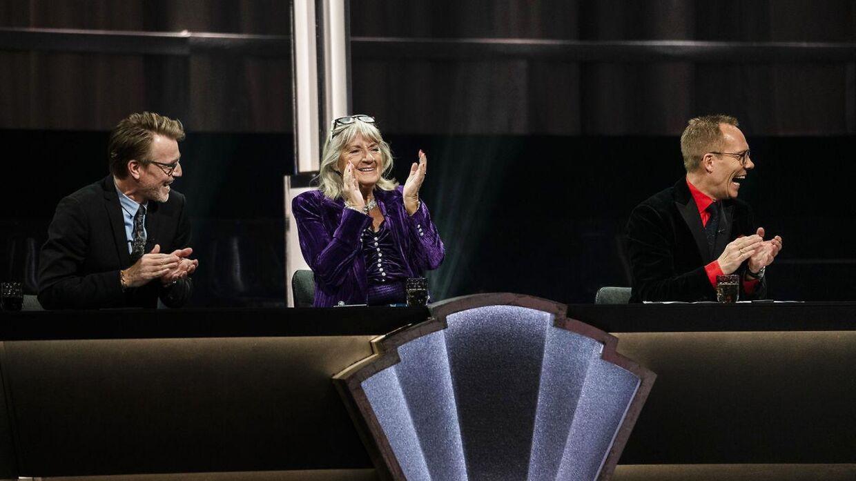 'Vild med dans'-dommerne Nikolaj Hübbe, Britt Bendixen og Jens Werner under sidste sæsons semifinale.