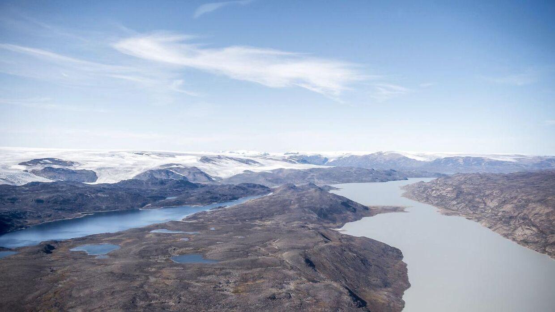 Indlandsisen smelter med stor hast. (Foto: Mads Claus Rasmussen/Ritzau Scanpix)