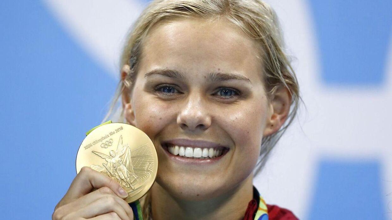 Pernille Blume vandt OL-guld i 50 meter fri i 2016. I år går hun efter at gentage bedriften.