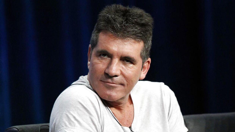 Simon Cowell som dommer i programmet.