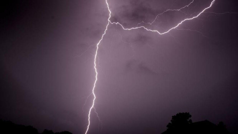 Nordjyderne kan forvente en del lynd og torden sent på aftenen og ud på natten søndag. Mads Claus Rasmussen/Ritzau Scanpix