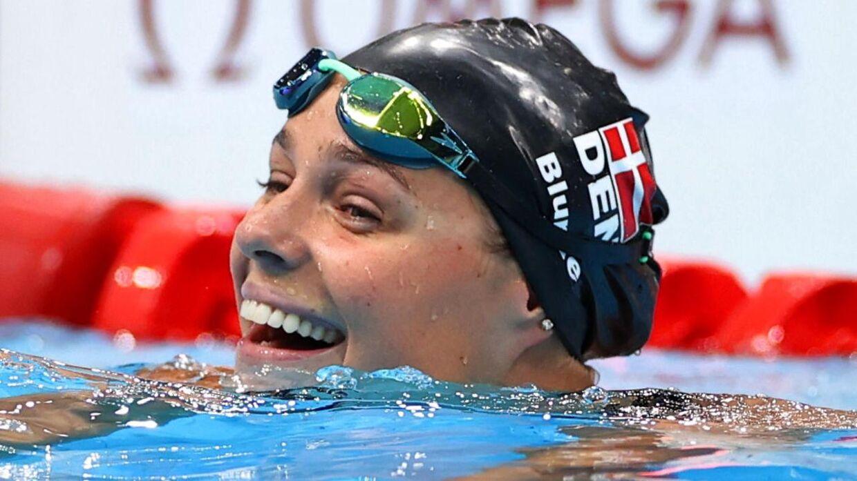 Pernille Blume vandt OL-bronze i 50 meter fri.