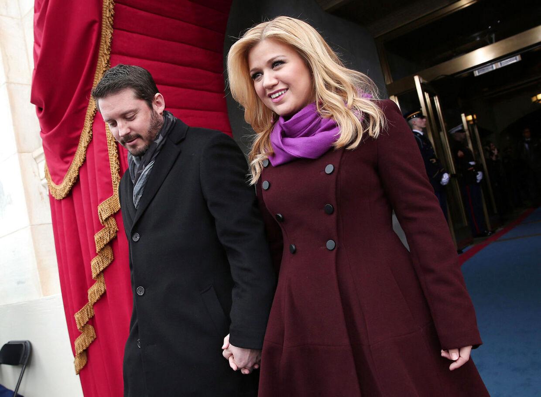 Kelly Clarkson og Brandon Blackstock tilbage i 2013, da forholdet stadig var ungt.