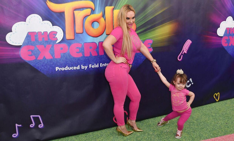Coco Austin med datteren Chanel Nicole Marrow.