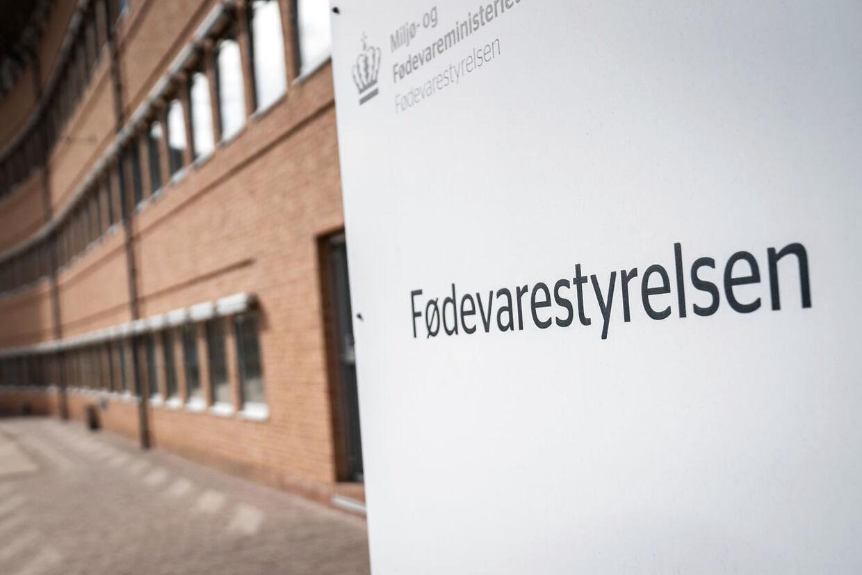 Fødevarestyrelsen i Glostrup, mandag den 22. marts 2021.