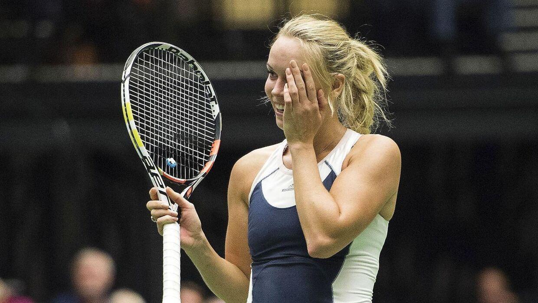 Caroline Wozniacki får personligt 150.000 kroner i OL-støtte, men tennisforbundet får ingenting fra Team Danmark.