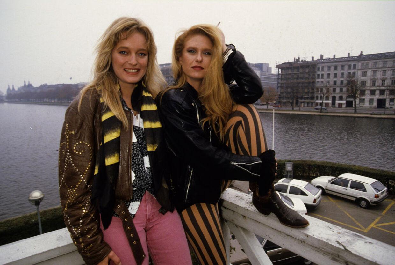 Sanne Salomonsen og Anne Linnet, sangerinder.