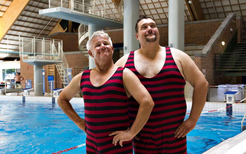 Anders Bircow og Amin Jensen er makkere i TV3's nye underholdningsshow Stjernerne på vippen.