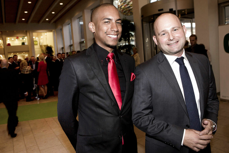 Søren Pape Poulsen og kæresten Josue Medina Vazquez lod sig fotografere på det konservative landsråd 27. september i år.