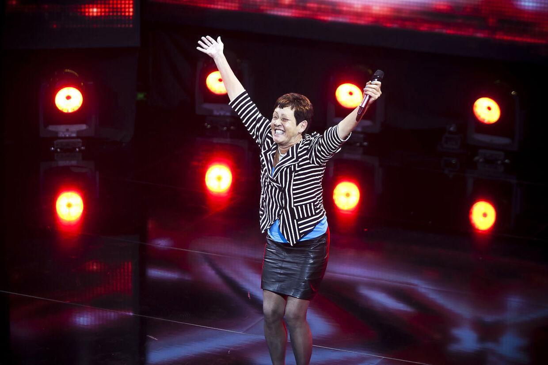 55-årige Ulla Bjerre modtog dagens største bifald ved dagens X-Factor audition