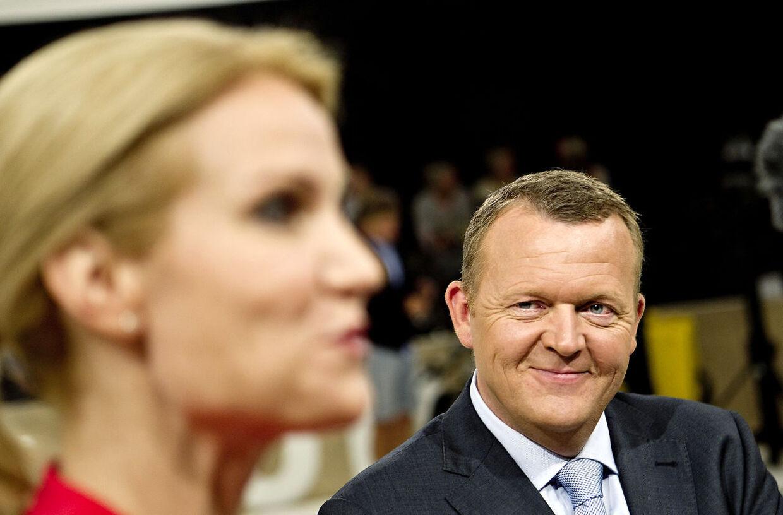 Statsminister Lars Løkke Rasmussen er ifølge danskerne den mest troværdige partileder, mens Helle Thorning-Schmidt kun får en tredjeplads.
