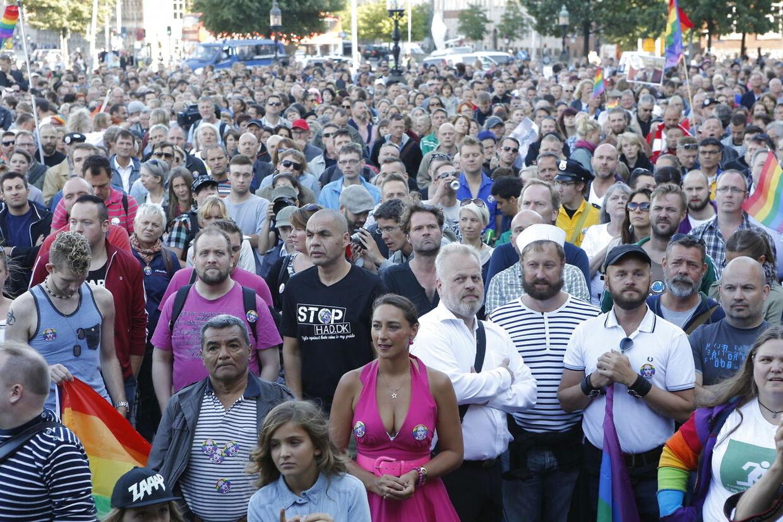 homoseksuelle demonstration