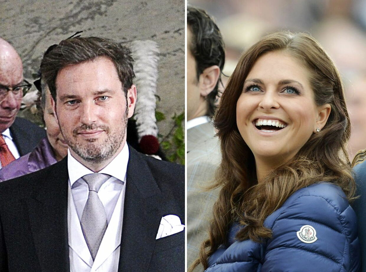 epa03445666 (FILE) A composite of two images shows a file picture dated 22 May 2012 of British-born financier Christopher O'Neill (L) at Swedish Princess Estelle's christening at Storkyrkan in Stockholm, Sweden and a file picture dated 14 July 2012 of Swedish Princess Madeleine (R) during the celebration of Crown Princess Victoria's birthday in Borgholm, Sweden. Princess Madeleine and and Christopher O'Neill announced on 25 October 2012 their engagement on the Royal Court website. The wedding is planned to be celebrated in 2013. EPA/MAJA SUSLIN / MIKAEL FRITZON SWEDEN OUT