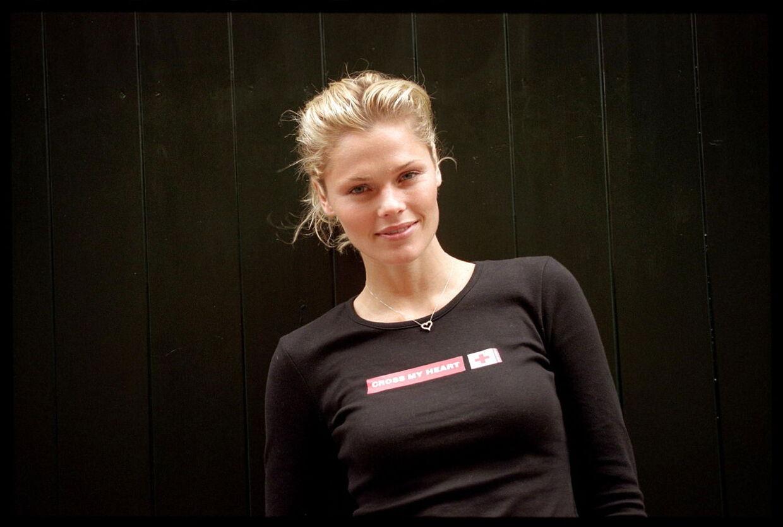 Model og designer Camilla Vest